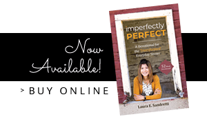 Imperfectly Perfect Devotional Book - buy online